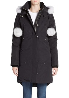 Moose Knuckles Stirling Fur-Trim Parka