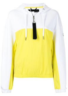 Moose Knuckles two-tone zipped hoodie