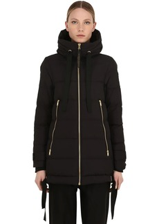 Moose Knuckles Val Marie Nylon Down Jacket
