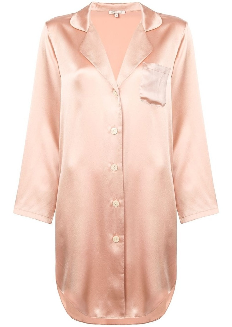 Morgan Lane Jillian silk shirt dress