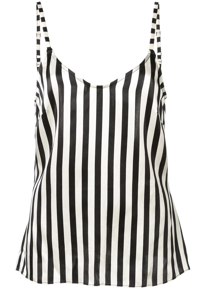 Morgan Lane Mackenzie striped print camisole