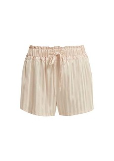 Morgan Lane Rickie silk pyjama shorts