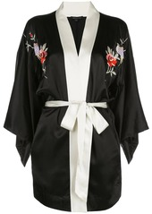 Morgan Lane Nia embroidered robe