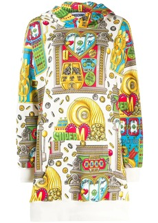 Moschino casino-print jumper dress