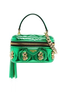 Moschino $ embellished box bag