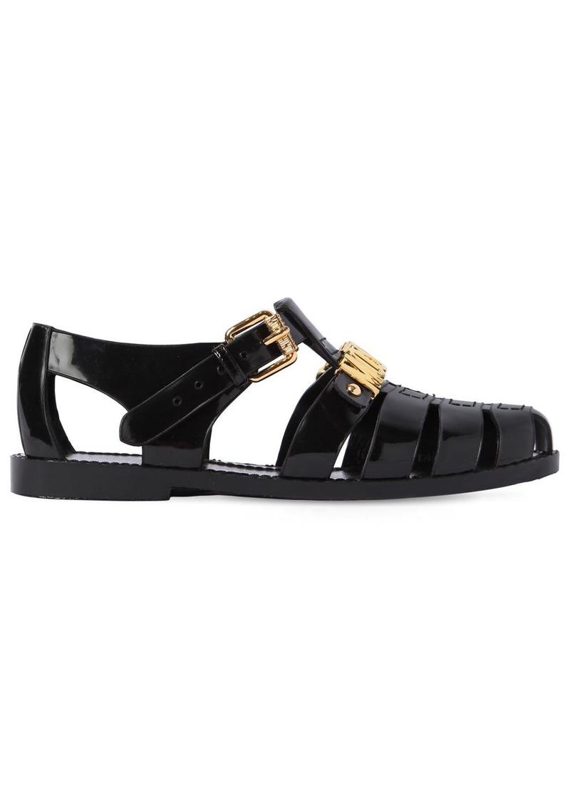 Moschino 10mm Pvc Sandals