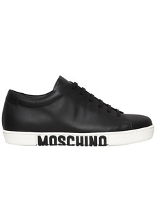 Moschino 20mm Leather Sneakers