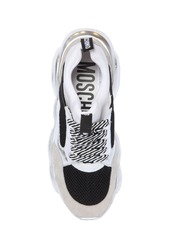 Moschino 30mm Teddy Mesh & Neoprene Sneakers