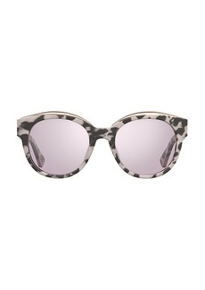 Moschino 52MM Modified Oval Sunglasses