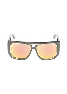 Moschino 58MM Shield Sunglasses
