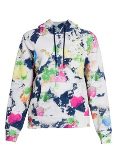 Moschino Abstract Print Hoodie
