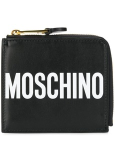 Moschino all around zipped wallet