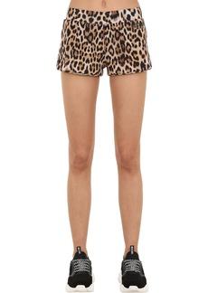 Moschino Animal Printed Jersey Shorts