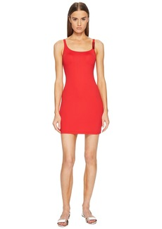 Moschino Basic Color Dress Cover-Up