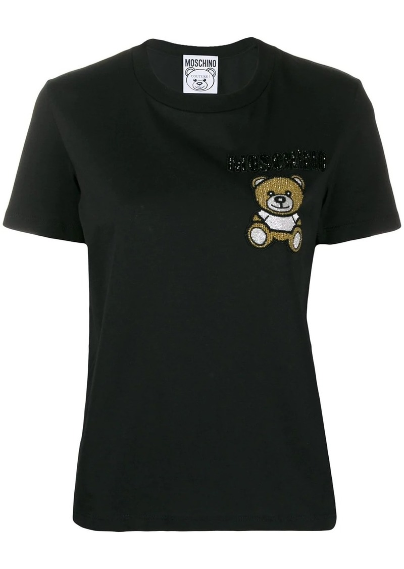 Moschino beaded Teddy Bear T-shirt