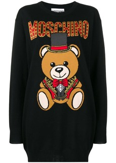 Moschino bear knitted dress