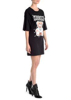 Moschino Bear Logo T-Shirt Dress