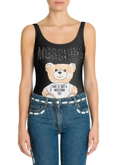 Moschino Bear Print Bodysuit