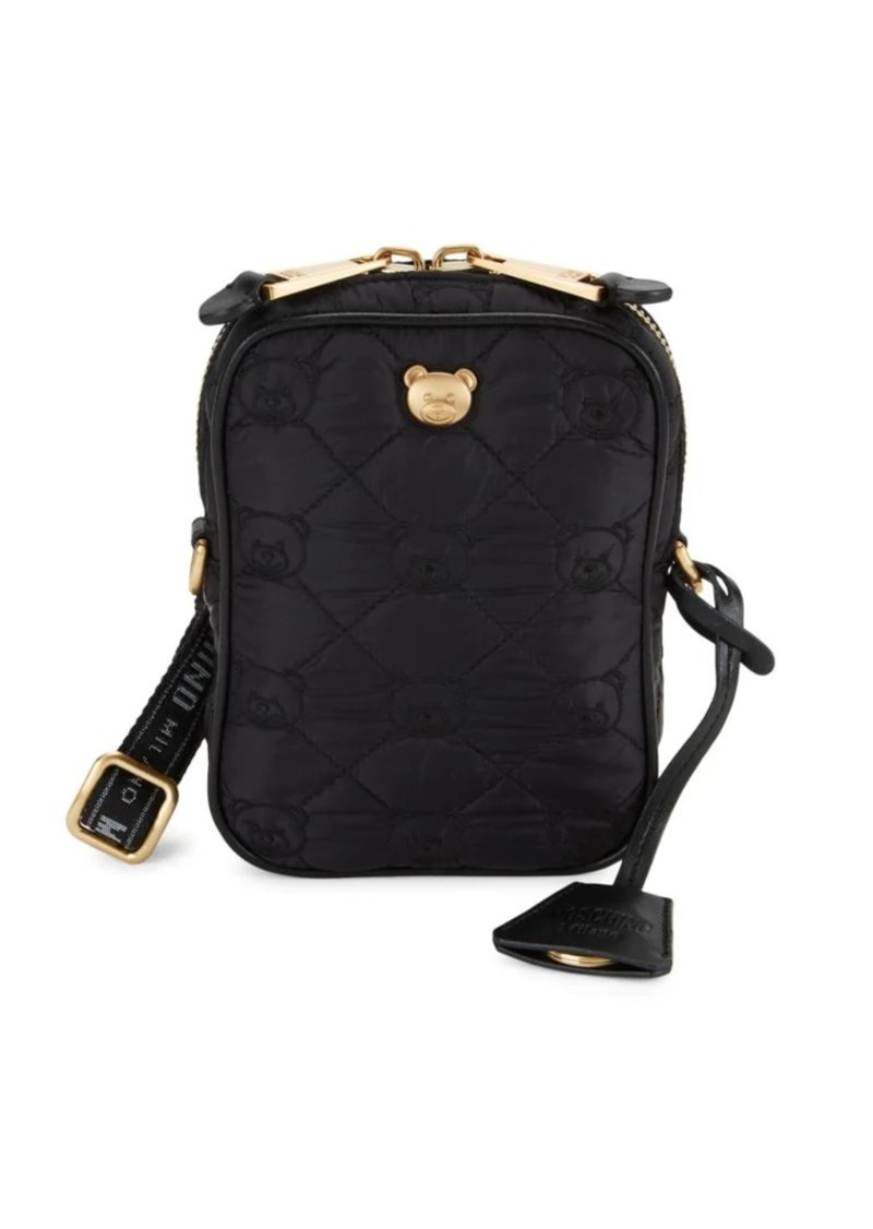 Moschino Bear Quilted Camera Bag