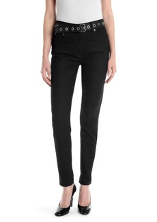 Moschino Belted Slim Jeans