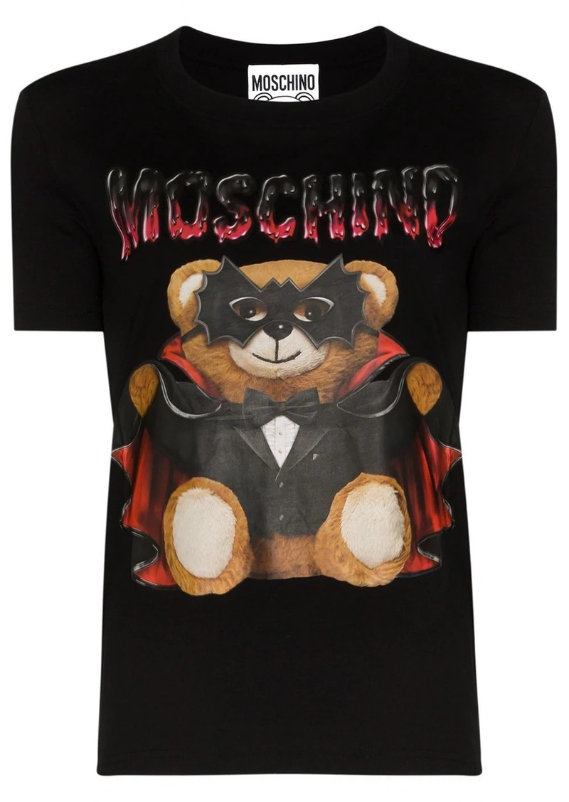 Moschino Dracula Teddy T-shirt