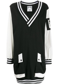 Moschino bomber style short dress