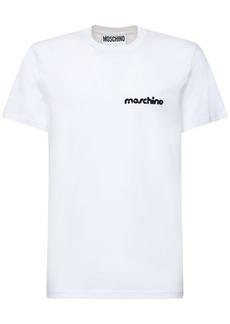 Moschino Broken Logo Cotton T-shirt