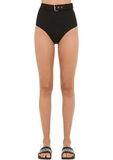 Moschino Buckled Bikini Bottoms