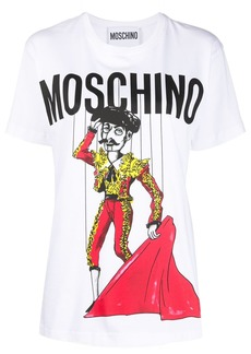 Moschino bullfighter print T-shirt