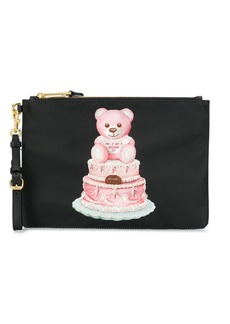 Moschino Cake Teddy Bear clutch