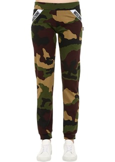 Moschino Camouflage Cotton Sweatpants
