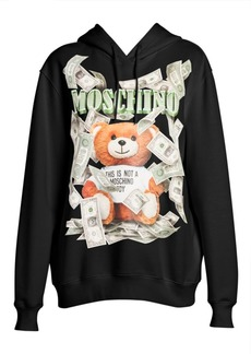 Moschino Cash Prize Teddy Hoodie