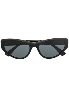 Moschino cat-eye logo-plaque sunglasses