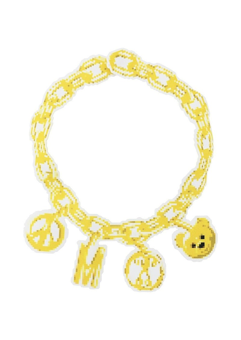 Moschino chain necklace