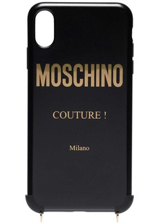 Moschino chain strap iPhone XS Max case