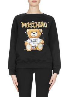 Moschino Christmas Teddy Crewneck Sweater