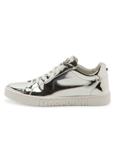 Moschino Chrome Low-Top Sneakers