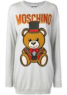 Moschino circus bear jumper dress