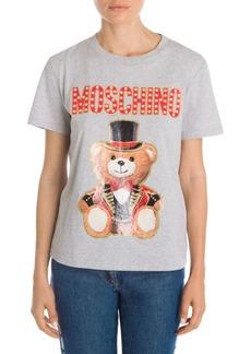Moschino Circus Bear Logo Tee