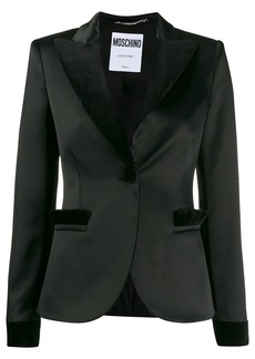 Moschino two-tone fitted blazer