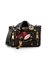 Moschino Collared Mini Crossbody Bag