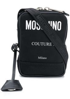 Moschino contrast logo shoulder bag