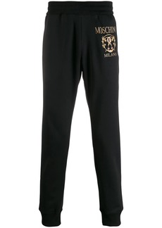 Moschino contrast logo track pants