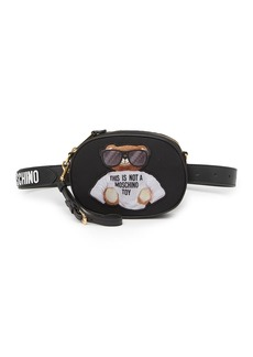 Moschino Convertible Bear Belt Bag