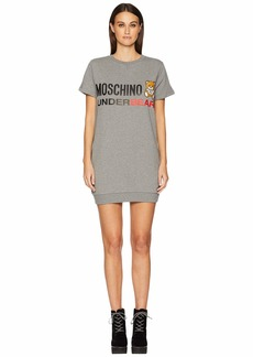 Moschino Cotton Fleece Sweat Dress