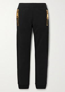 Moschino Cotton-jersey Track Pants