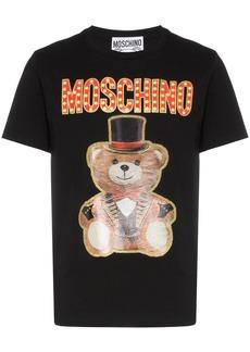 Moschino cotton logo ringmaster bear T-shirt