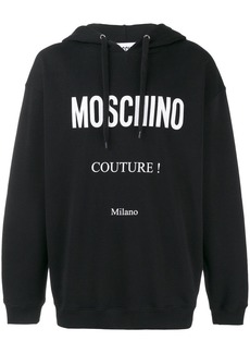 Moschino Couture! drawstring hoodie