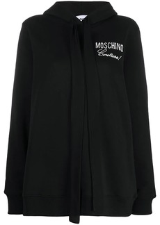 Moschino Couture! embroidered hoodie
