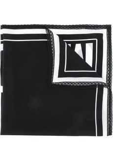 Moschino Couture logo scarf